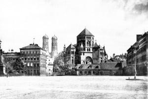 Die Hauptsynagoge in München 1889.